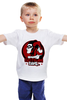 """Детская футболка классическая унисекс """"Gotham Girl"""" - joker, джокер, бэтмен, харли квинн, готэм"""