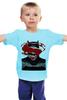 """Детская футболка классическая унисекс """"Batman vs Superman"""" - супермен, batman, superman, бэтмен, dc"""