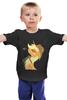 """Детская футболка """"Applejack"""" - pony, mlp, пони, applejack"""
