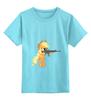 """Детская футболка классическая унисекс """"Mah apples!"""" - pony, mlp, aj"""