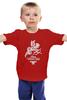 """Детская футболка классическая унисекс """"Happy Valentnine's Day"""" - ангел, день святого валентина, 14 февраля"""