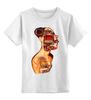 """Детская футболка классическая унисекс """"Женщина машина"""" - машина, женщина, робот, язык"""