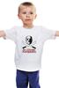 "Детская футболка классическая унисекс ""На страже хардкора"" - маска, хоррор, jason, пятница 13-е, джейсон"