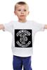 """Детская футболка классическая унисекс """"Sons of Anarchy"""" - смерть, sons of anarchy, сыны анархии, коса"""