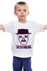 """Детская футболка """"Heisenberg 3d"""" - 3d, во все тяжкие, breaking bad, heisenberg"""
