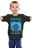 """Детская футболка """"Гарфилд"""" - кот, cat, blue, гарфилд, garfield, mondays suck"""