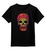 """Детская футболка классическая унисекс """"Черепа"""" - skull, кости, череп"""