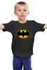 "Детская футболка ""Batman (8-bit)"" - batman, бэтмен, пиксели, 8-бит, 8-bit"