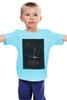 "Детская футболка ""Seven / Семь"" - афиша, kinoart, семь, seven"