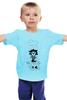 """Детская футболка """"Лев под дождем"""" - leo, rain, sad lion, gloomy, мрачный лев"""
