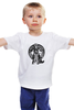 "Детская футболка классическая унисекс ""Moto Monkey"" - мото, обезьяна, monkey, moto"