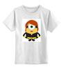 """Детская футболка классическая унисекс """"Миньоны"""" - мстители, тор, despicable, вдова, mignon"""