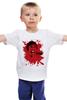 "Детская футболка ""Психо (Психоз)"" - псих, хичкок, psycho, психо, психоз"