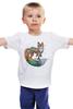 """Детская футболка """"LISSA ART"""" - арт, рисунок, fox, лиса"""