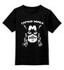 """Детская футболка классическая унисекс """"Капитан Мерика (Captain Мerica)"""" - прикол, юмор, пародия, капитан америка, captain america"""