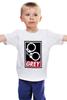 """Детская футболка """"50 оттенков серого (Fifty Shades of Grey)"""" - секс, бдсм, obey, наручники, 50 оттенков серого"""