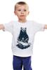 """Детская футболка """"Медвежья рыбалка"""" - медведь, рыбалка, охота"""