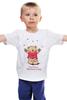 """Детская футболка """"Happy Valentnine's Day"""" - bear, медведь, мишка, обними меня, hug me"""
