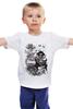 """Детская футболка классическая унисекс """"префлоп войны"""" - авторские майки, прикольные"""