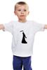 """Детская футболка классическая унисекс """"""""HALLOWEEN"""""""" - праздник, хэллоуин, чёрно-белое"""
