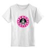 """Детская футболка классическая унисекс """"Princess Peach Coffee"""" - пародия, кофе, coffee, starbucks, старбакс"""