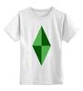 """Детская футболка классическая унисекс """"Кристал (Симс)"""" - the sims"""