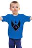 "Детская футболка ""My Little Pony - герб Nightmare Moon (Найтмэр Мун)"" - mlp, пони, принцесса, луна"