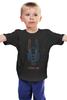 """Детская футболка """"Робот по имени Чаппи """" - chappie, чаппи, дев патель, нил бломкамп"""