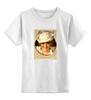 """Детская футболка классическая унисекс """"Мой ангел"""" - ретро, рисунок, винтаж, пинап, pin up"""