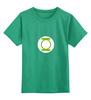 """Детская футболка классическая унисекс """"Зеленый фонарь"""" - теория большого взрыва, тбв, paramount comedy, шелдон купер, the big bang theory"""