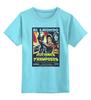 """Детская футболка классическая унисекс """"Belmondo / Rufianes v Tramposos"""" - оружие, актеры, kinoart, belmondo, бельмондо"""