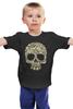 """Детская футболка классическая унисекс """"Череп"""" - skull, череп"""