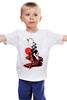 """Детская футболка классическая унисекс """"Сердце наружу..."""" - сердце, девушка, грусть, печаль, тьма, тень"""