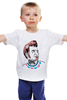 """Детская футболка классическая унисекс """"стиляга"""" - хипстер, hipster, стиляги, стиляга, хипстерская"""