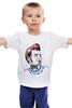 "Детская футболка ""стиляга"" - хипстер, hipster, стиляги, стиляга, хипстерская"