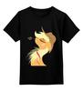 """Детская футболка классическая унисекс """"Applejack"""" - pony, mlp, пони, applejack"""