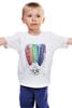 """Детская футболка """"мыслю позитивно"""" - авторские майки, девушке, выделись из толпы"""
