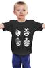 """Детская футболка """"Kiss (Кисс)"""" - kiss, кисс"""