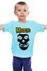 """Детская футболка """"Misfits """" - punk rock, misfits, панк, anarchy, анархия"""