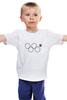 """Детская футболка классическая унисекс """"нераскрывшееся олимпийское кольцо"""" - олимпиада, 2014, сочи, олимпийские кольца, нераскрывшееся олимпийское кольцо"""