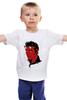 """Детская футболка """"Элвис Пресли Дьявол"""" - король, rock-n-roll, elvis presley, devil, элвис пресли"""