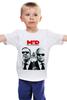 """Детская футболка """"Men in diplomacy"""" - сергей лавров, виталий чуркин, дипломаты"""