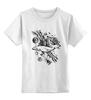 "Детская футболка классическая унисекс ""The Megapolis whale"" - арт, кит, universe, whale"