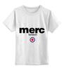 """Детская футболка классическая унисекс """"merc london"""" - спорт, merc, merc london, мерк"""