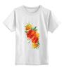"""Детская футболка классическая унисекс """"""""Flowers"""""""" - цветы, футолка, креатив, красивые, цветное"""