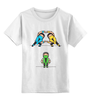 "Детская футболка классическая унисекс ""Мортал Комбат (Mortal Kombat)"" - mk, ниндзя, рептилия, саб зиро, скорпион"