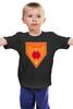 """Детская футболка классическая унисекс """"Дом Мартеллов"""" - игра престолов, game of thrones, дом мартеллов"""