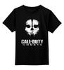 """Детская футболка классическая унисекс """"CALL OF DUTY: GHOSTS"""" - игра, shooter, призраки, зов долга, activision"""