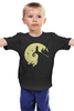 """Детская футболка классическая унисекс """"Бэтмен"""" - batman, бэтмен, супергерой, тёмный рыцарь, человек-летучая мышь"""
