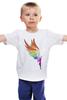 """Детская футболка """"Mozart L`opera Rock """" - арт, авторские майки, wings, рисунок, color"""